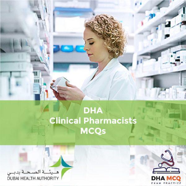 DHA Clinical Pharmacists MCQs