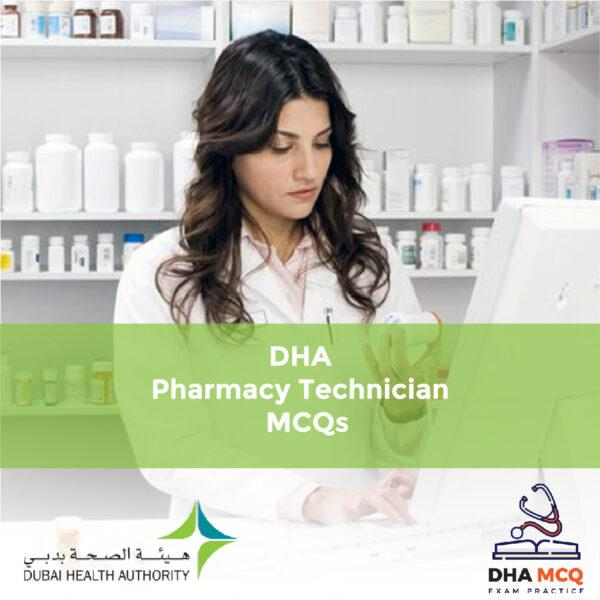 DHA Pharmacy Technician MCQs