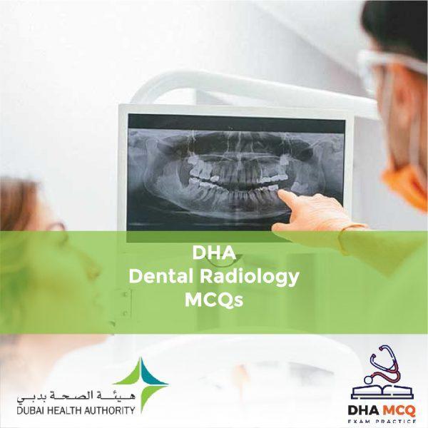 DHA Dental Radiology MCQs