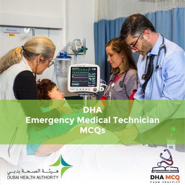 DHA Emergency Medical Technician MCQs