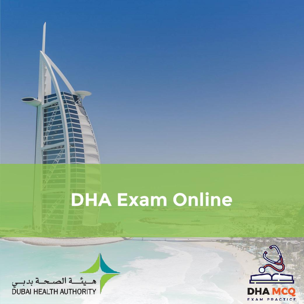 DHA Exam Online