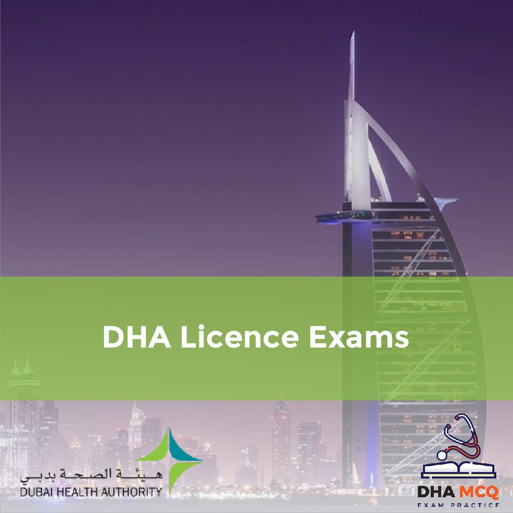 DHA License Exams