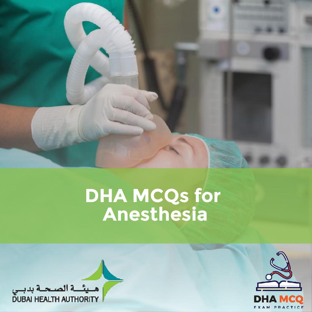 DHA-MCQs-for-Anesthesia