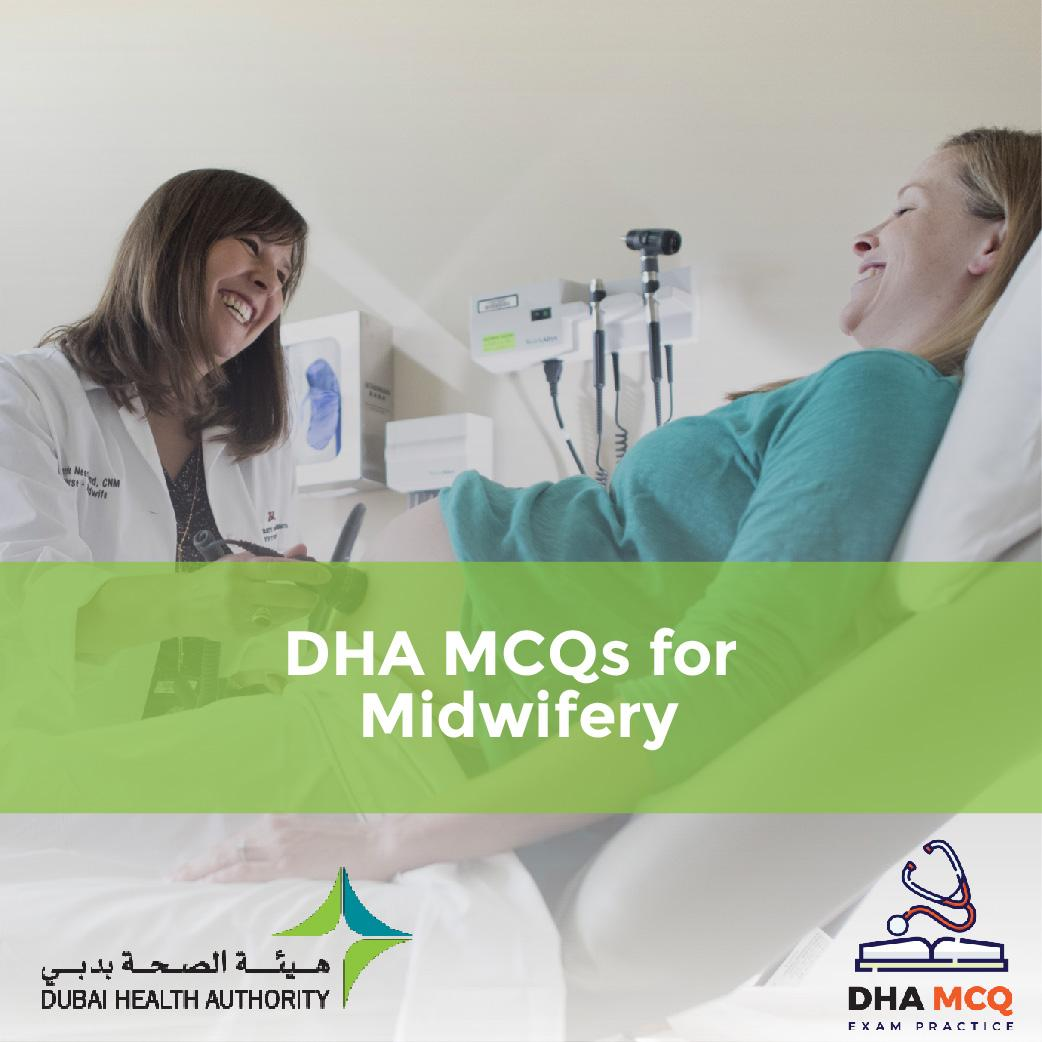 DHA MCQs for Midwifery