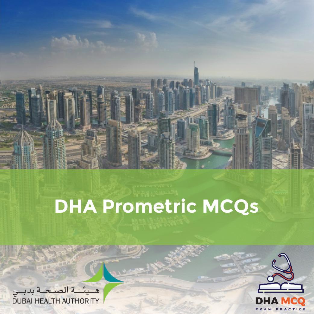 DHA Prometric MCQS