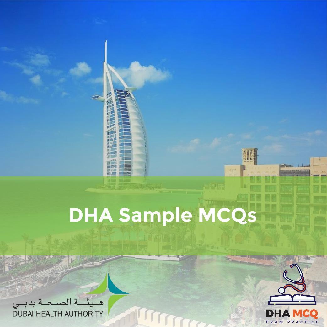 DHA Sample MCQs