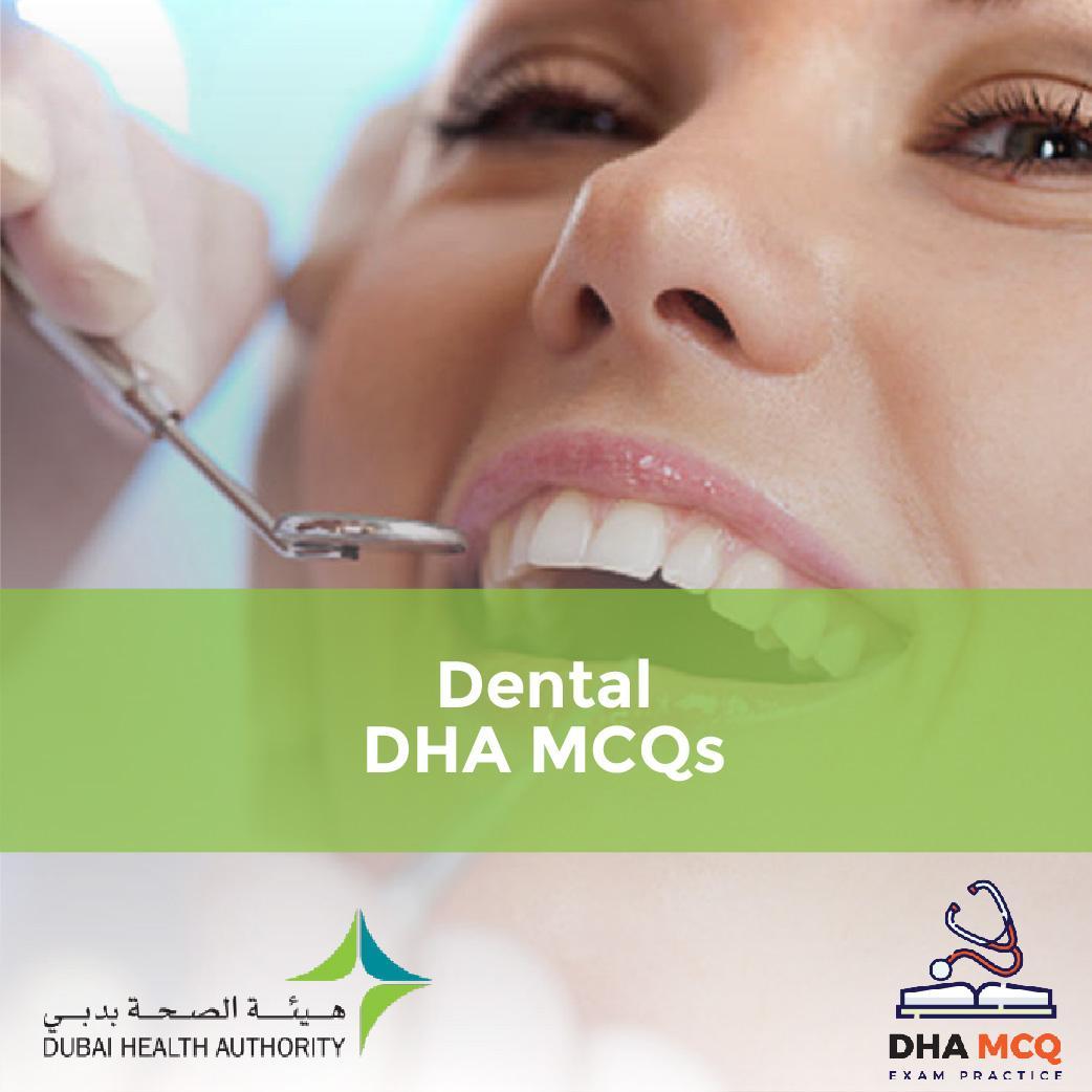 Dental DHA MCQs