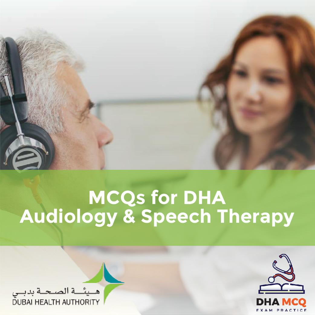 MCQs for DHA Audiology & Speech Therapy