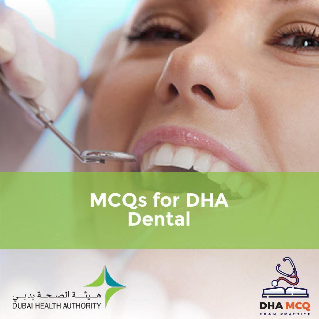 MCQs for DHA Dental