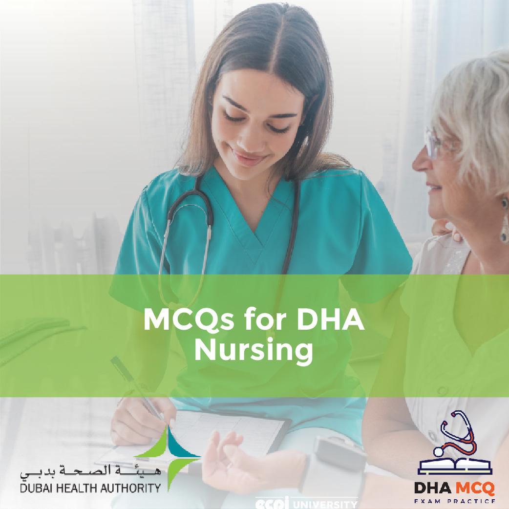 MCQs for DHA Nursing