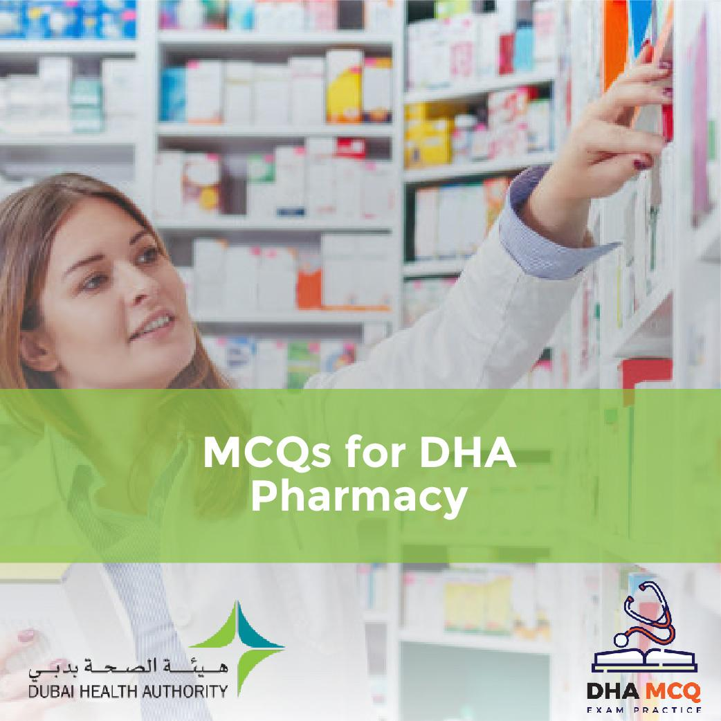 MCQs for DHA Pharmacy