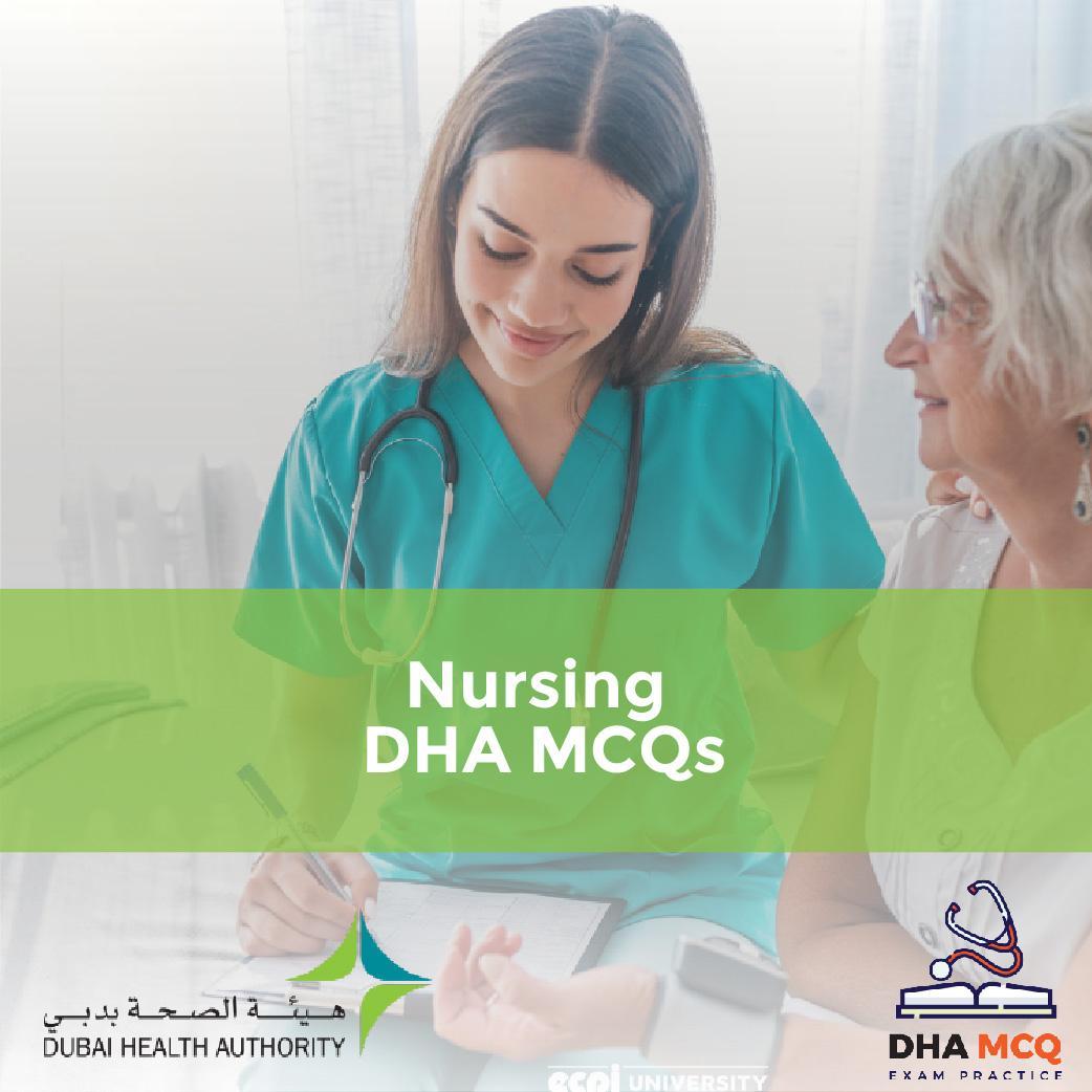 Nursing DHA MCQs
