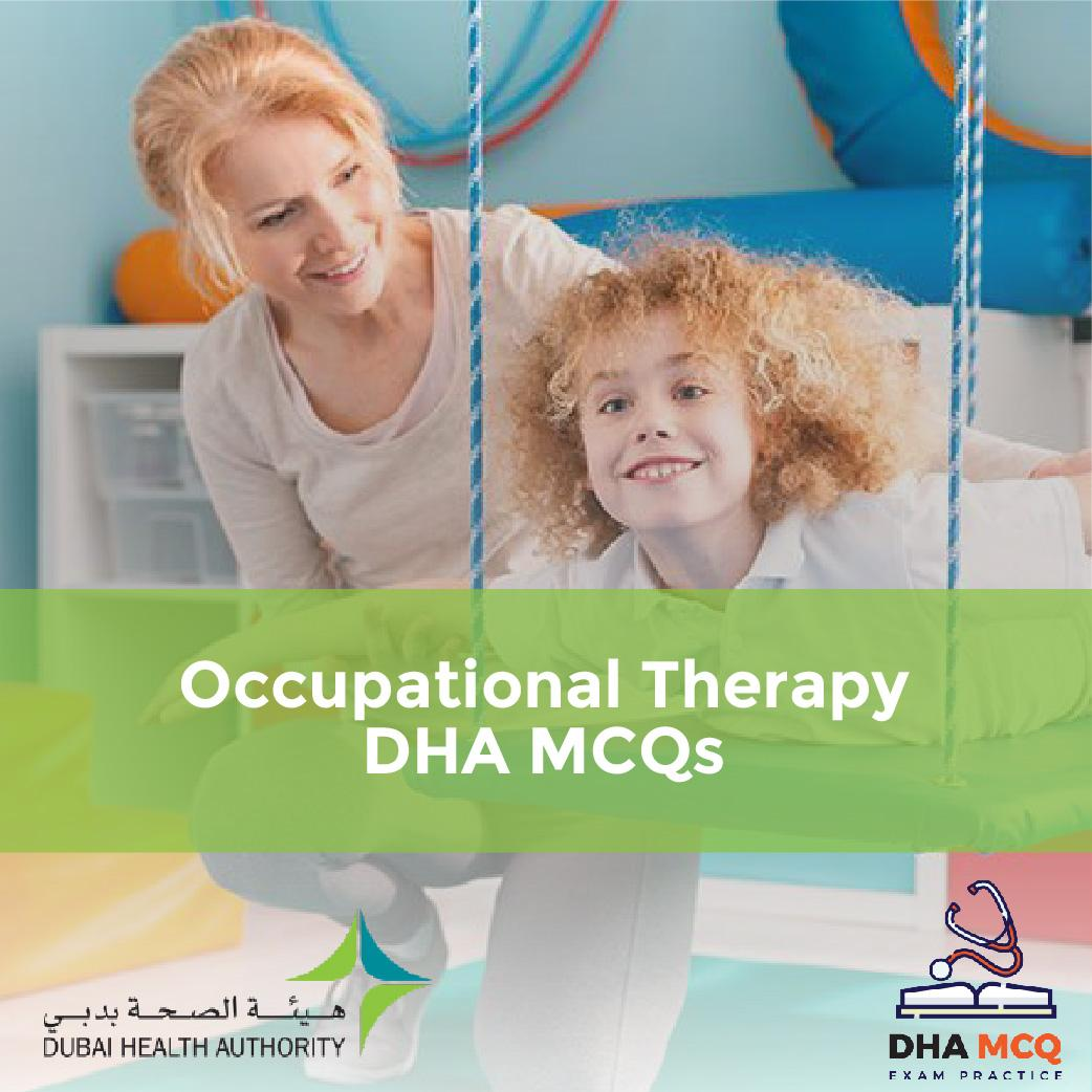 Occupational Therapy DHA MCQs