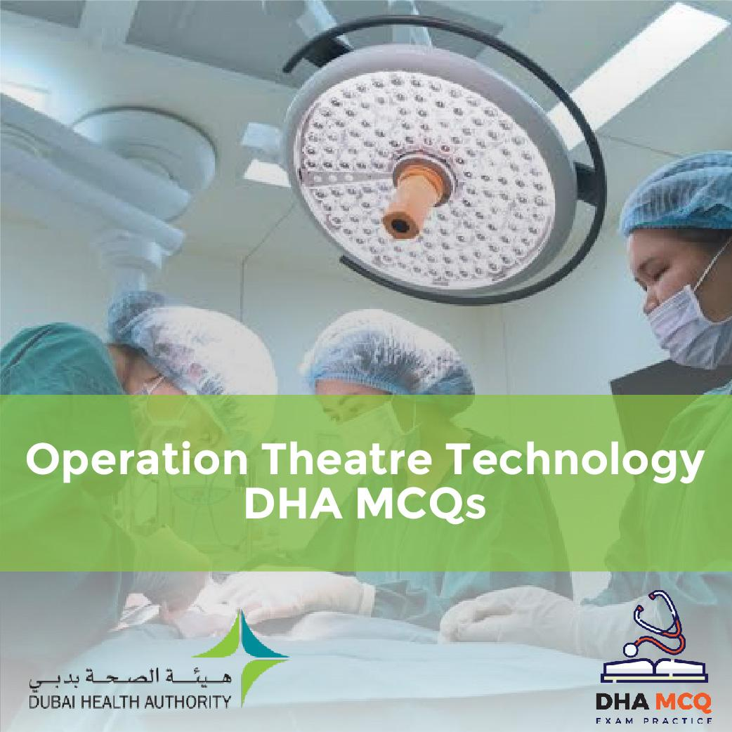 Operation Theatre Technology DHA MCQs
