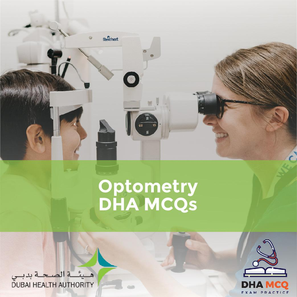 Optometry DHA MCQs