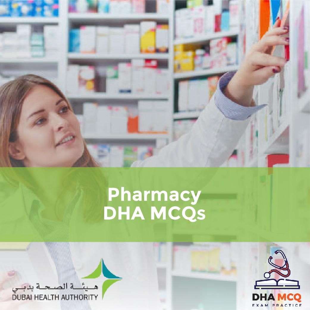 Pharmacy DHA MCQs