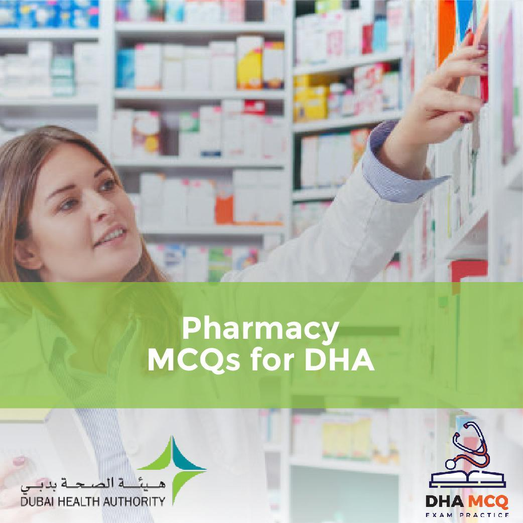 Pharmacy MCQs for DHA