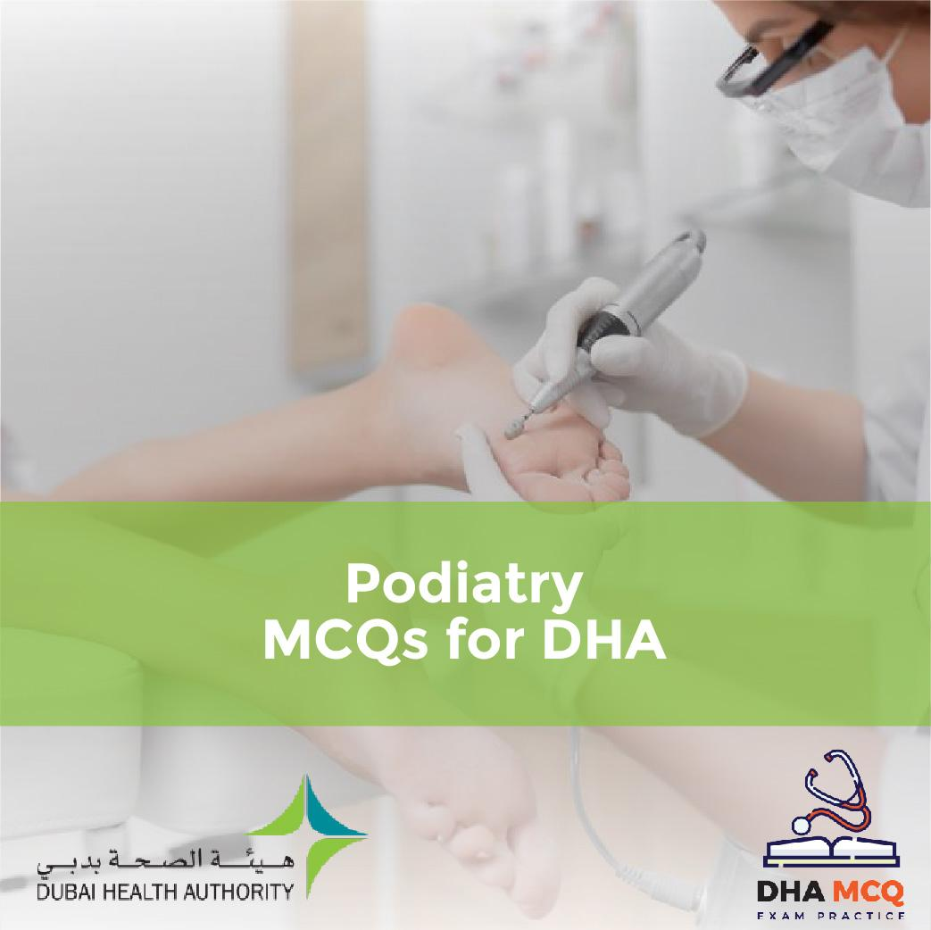 Podiatry MCQs for DHA