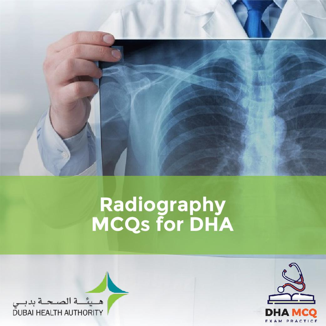 Radiography MCQs for DHA