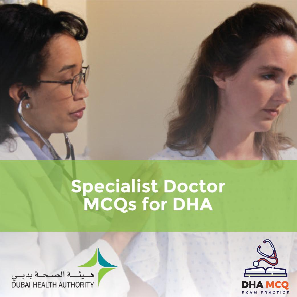 Specialist Doctor MCQs for DHA