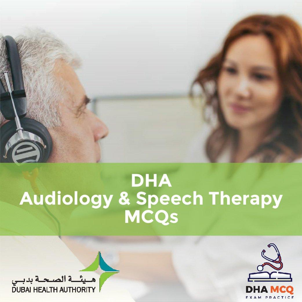 DHA Audiology & Speech Therapy MCQs