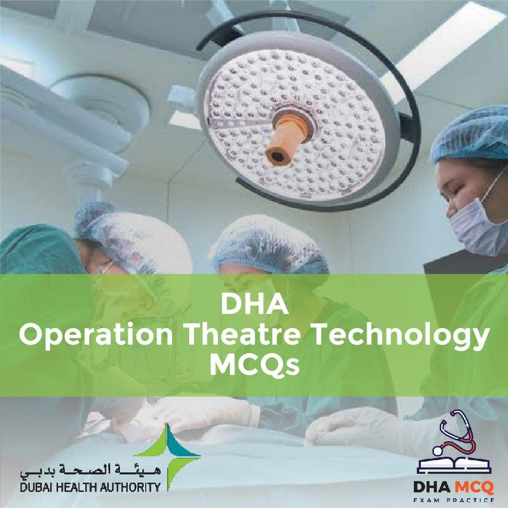 DHA Operation Theatre Technology MCQs