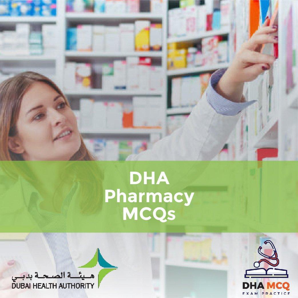 DHA Pharmacy MCQs