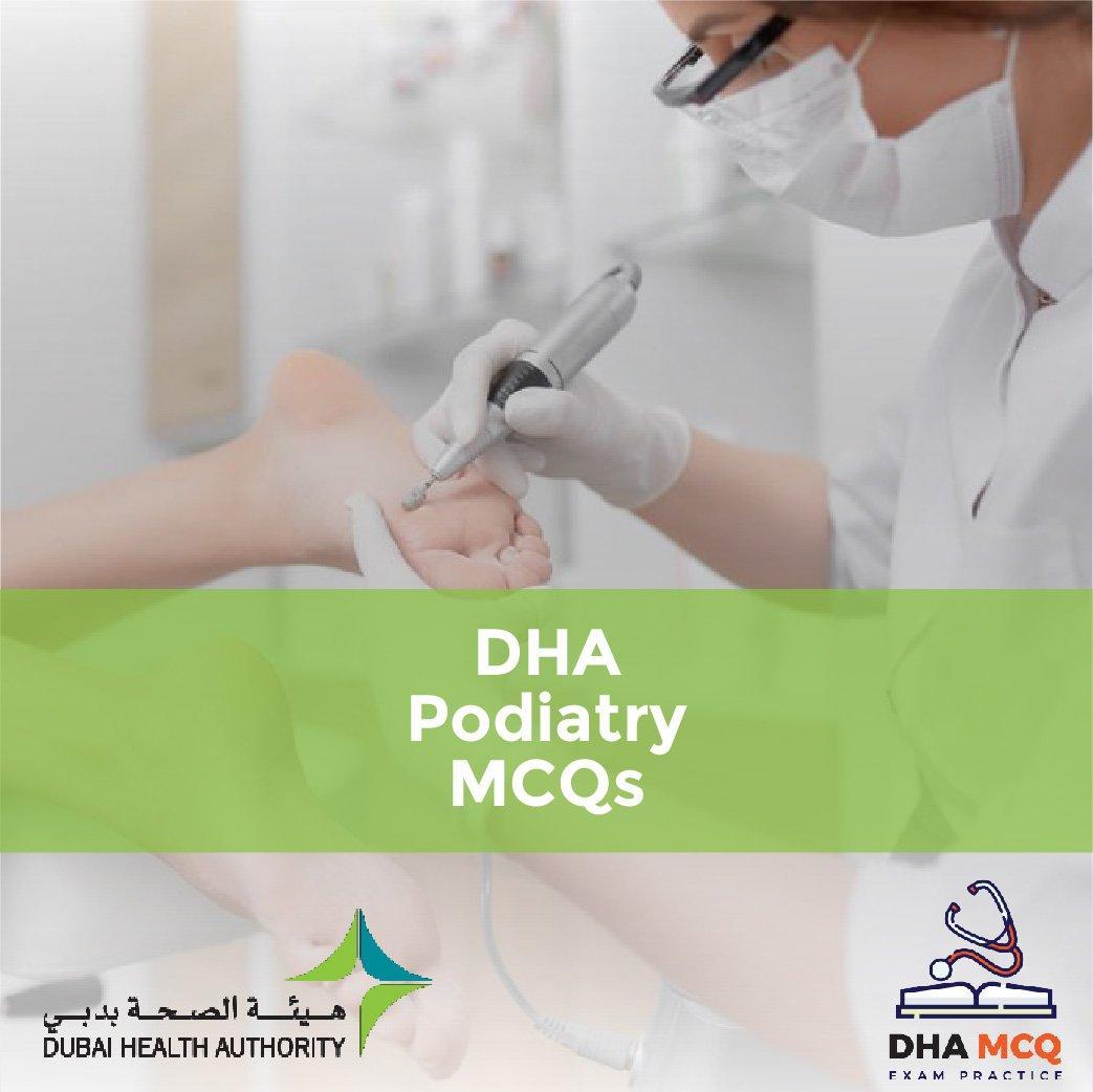 DHA Podiatry MCQs