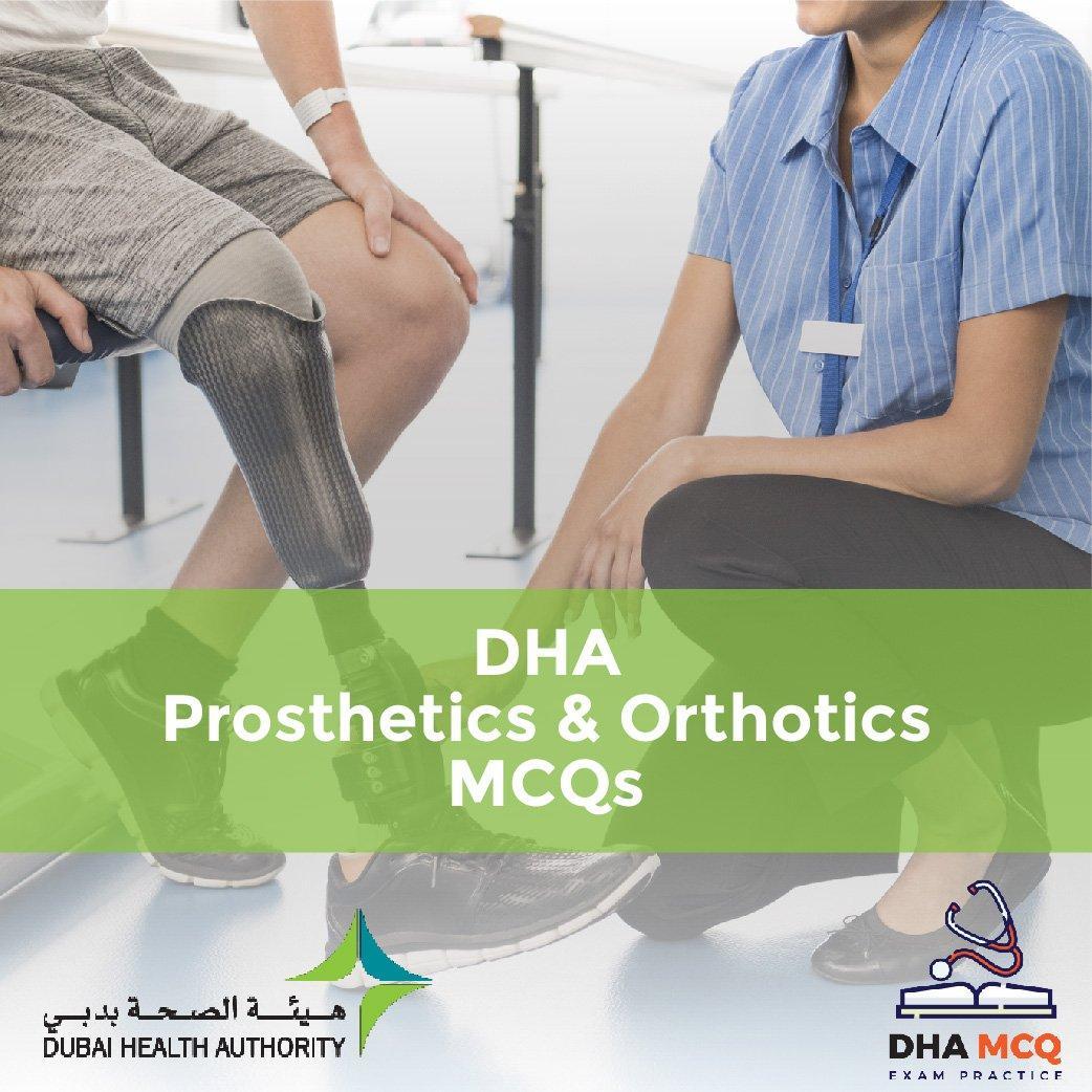 DHA Prosthetics & Orthotics MCQs